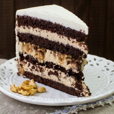 Шоколадно-карамельный