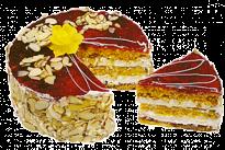 Торт Постный с лимоном и малиной У Палыча