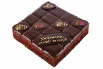 Пирожное Вишня с шоколадом
