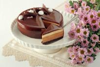 Торт Три шоколада  Венский Цех