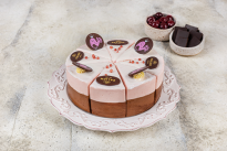 Торт Сливочная Птичка вишня с шоколадом у Палыча