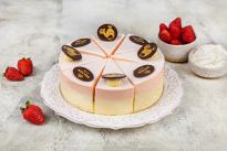 Торт Сливочная Птичка клубника со сливками У Палыча