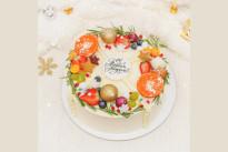 Торт Новогодняя Четвертинка SWEETMARIN