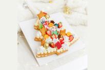 Торт сабле Новогодняя ёлочка SWEETMARIN