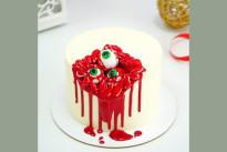 Глазастый торт с зубами и кровью SWEETMARIN
