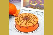 Торт с пауком на паутине SWEETMARIN