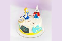 Торт Алиса в стране чудес SWEETMARIN
