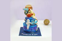 Торт Космонавт и планеты SWEETMARIN