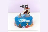 Торт Морской с пиратами SWEETMARIN