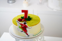 Торт для футболиста SWEETMARIN