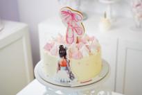 Торт для балерины SWEETMARIN