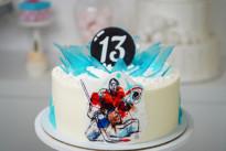 Торт с хоккеистом SWEETMARIN