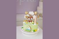Торт с лисичкой на годик SWEETMARIN
