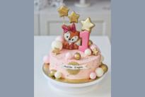 Торт с пряничной лисичкой SWEETMARIN