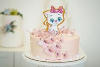 Торт с пряничным котёнком SWEETMARIN
