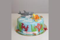 Торт Подводный мир SWEETMARIN