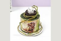 Торт Динозавр с яйцом SWEETMARIN