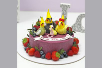 Торт Семейство попугаев SWEETMARIN