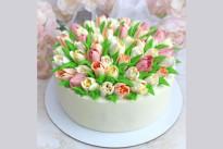 Торт Тюльпаны SWEETMARIN