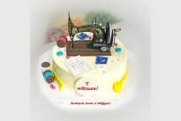 Торт Швейная машинка SWEETMARIN