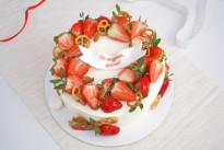 Летний кремовый торт на выпускной SWEETMARIN