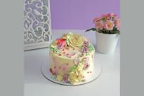 Торт Нежные цветы SWEETMARIN