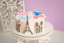Торт Парижские мотивы SWEETMARIN
