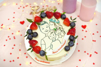 Торт Семья SWEETMARIN