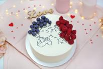 Торт Влюблённые SWEETMARIN