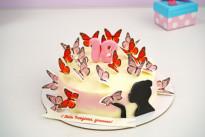Торт Бабочки SWEETMARIN