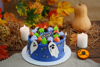 Торт Привидение с меренгами SWEETMARIN