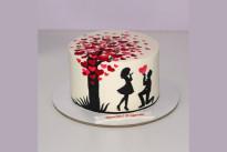 Торт Влюбленные SWEETMARIN