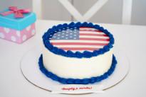 Торт Американский пирог SWEETMARIN