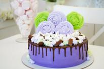 Торт Фиолетовое настроение SWEETMARIN