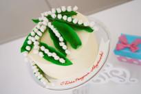 Торт букет ландышей SWEETMARIN