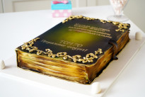 Торт на день рождения Книга SWEETMARIN
