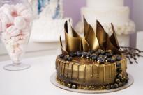 Торт золотой шоколад SWEETMARIN