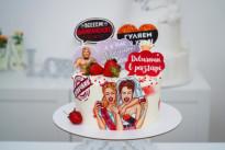 Торт на девичник SWEETMARIN
