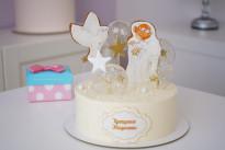 Торт на крещение SWEETMARIN
