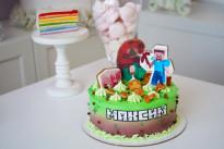 Торт с майнкрафтом SWEETMARIN