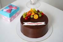Тортик Чёрный шоколад SWEETMARIN
