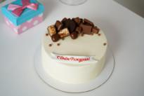 Белый торт SWEETMARIN