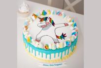 Торт Танцующий единорог SWEETMARIN