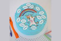 Торт на выпускной с единорогом SWEETMARIN