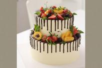 Торт Свадебный с фруктами SWEETMARIN