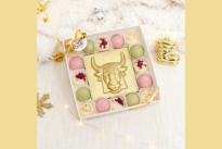 Золотой шоколадный набор ручной работы SWEETMARIN