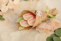 Букет пряничный Тюльпаны SWEETMARIN