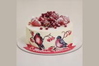 Торт Снегири SWEETMARIN
