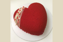 Тортик Сердце красное SWEETMARIN
