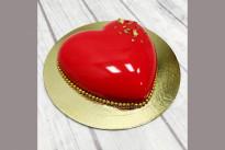 Торт Красное сердце SWEETMARIN